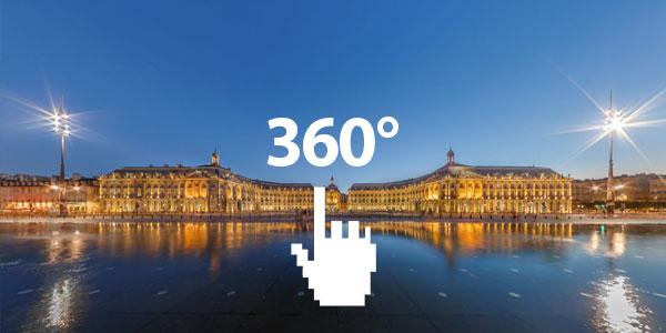 Ne loupez pas Bordeaux en 360°