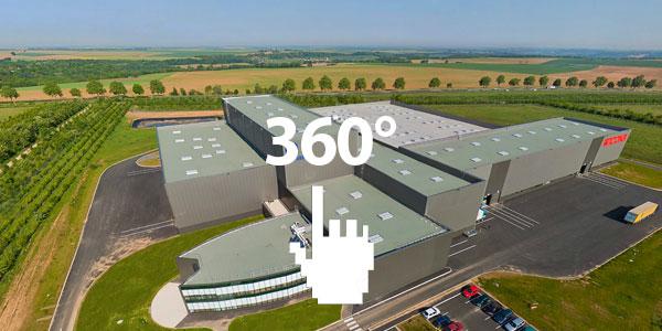 Wicona в Soisson в 360°