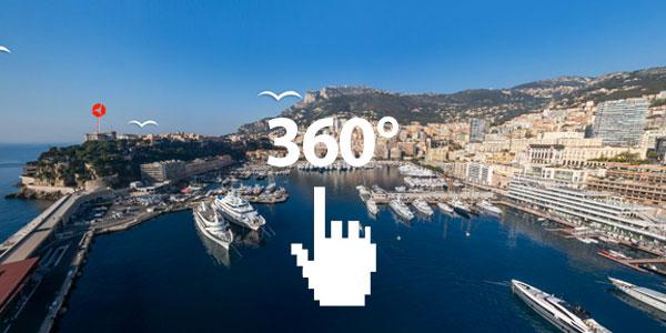 Partez à la découverte de Monaco en 360°