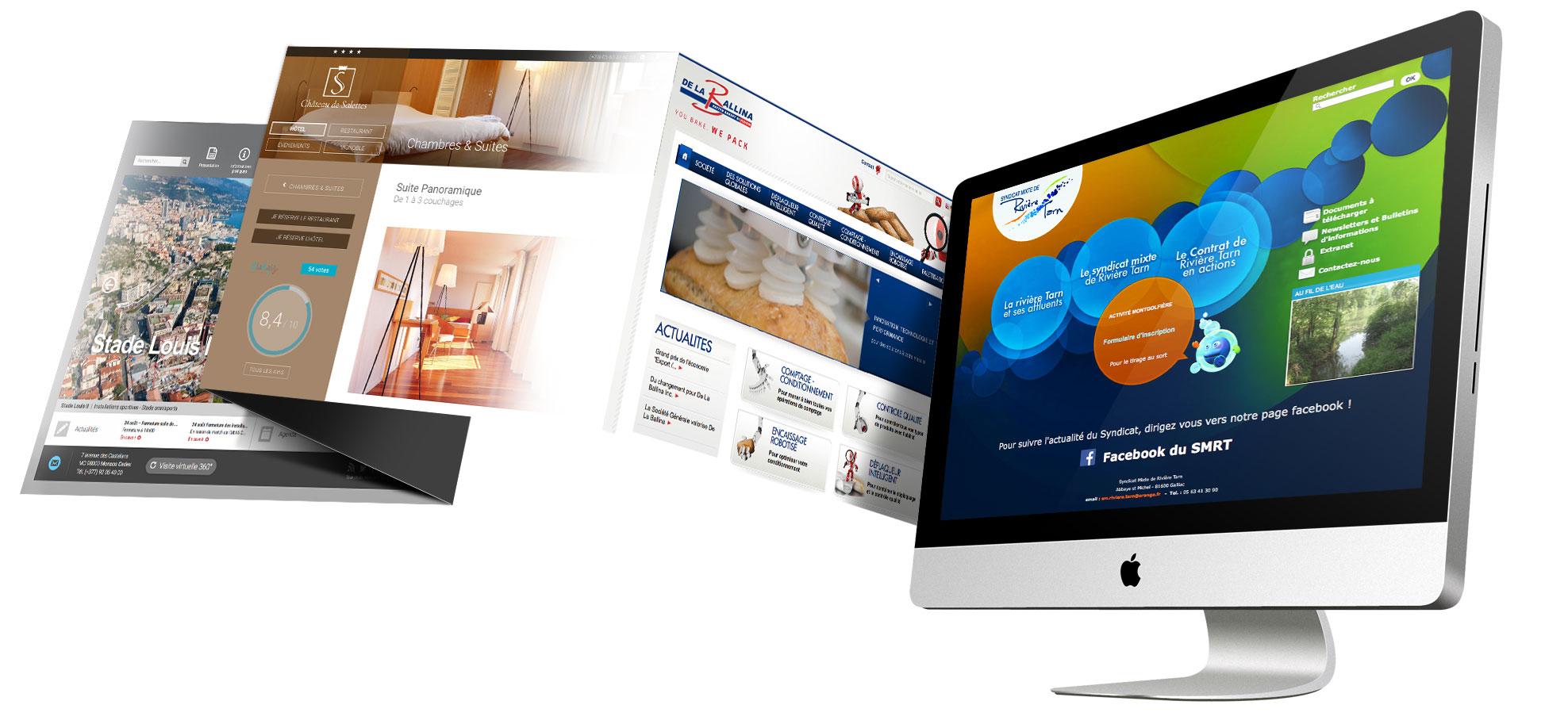 Création site internet Albi Tarn - Agence Vent d autan fe618c907934