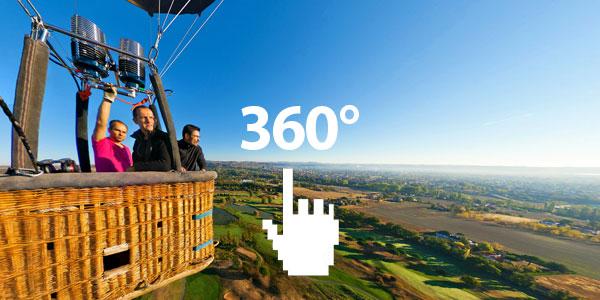 Lukkas Montgolfière en 360°