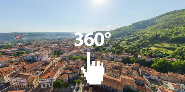 Découvrez Mazamet en 360°